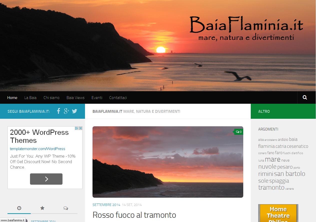Baia Flaminia - mare, natura e divertimenti