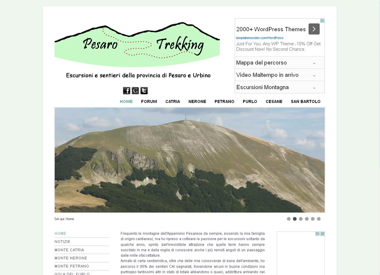 Pesaro Trekking - Escursioni e sentieri della provincia di Pesaro e Urbino