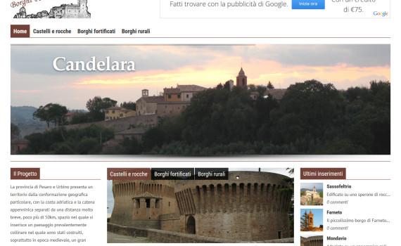 Il portale Borghi Pesaro e Urbino